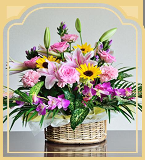 贈答・お悔やみ用のお花